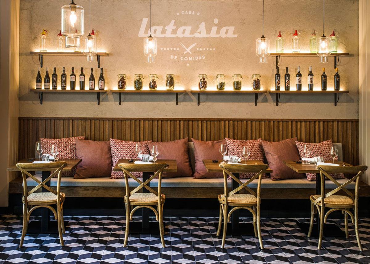 Latasia casa de comidas paseo de la castellana 115 madrid for La casa encendida restaurante madrid