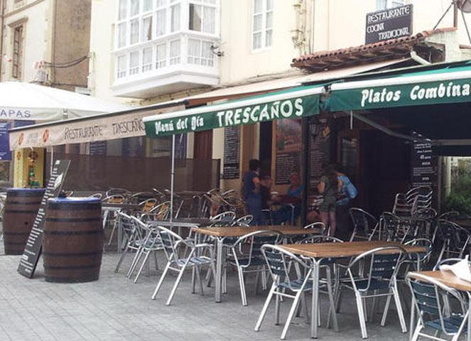 Taberna Trescaños Comillas Terraza Bar