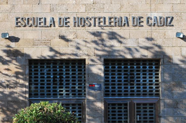 Escuela de Hosteleria Cadiz Fachada