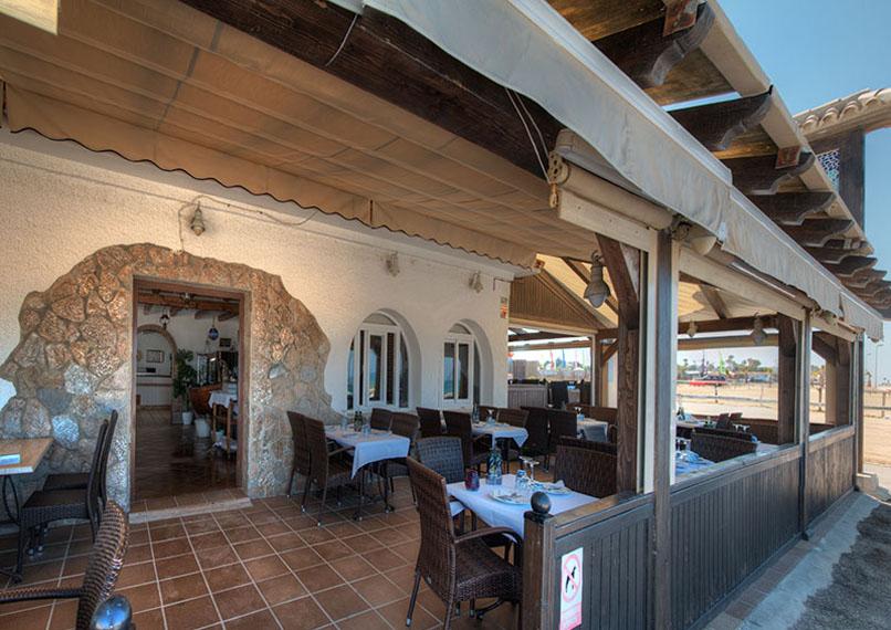 Restaurante Casa Juan Vejer Terraza