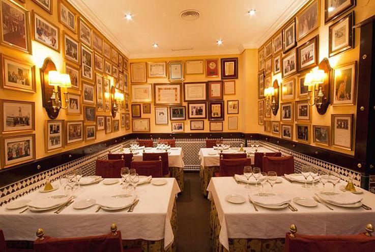 Restaurante El Faro de Cadiz Comedor