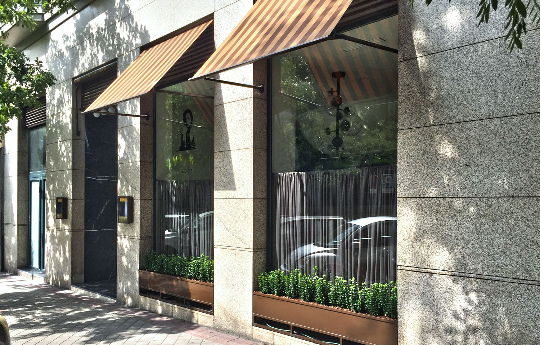 Amparito Roca en la calle Juan Bravo de Madrid