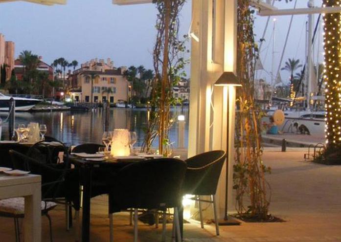 Restaurante El Molino del Conde Sotogrande Terraza