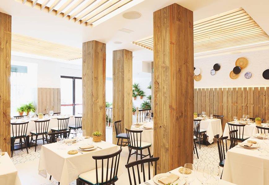 Zahara de Osborne Restaurante Madrid Interiores