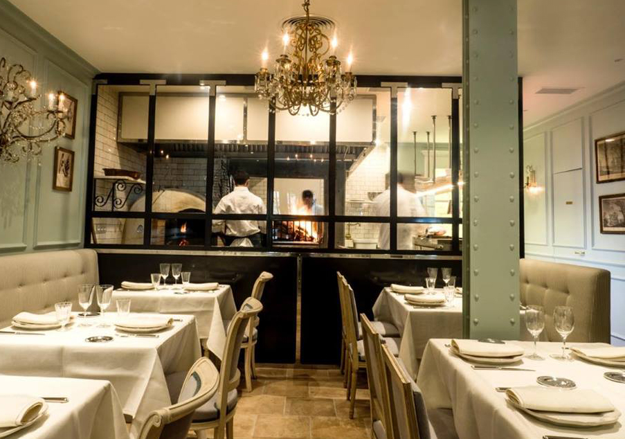 Fuego Restaurante Madrid Interiores