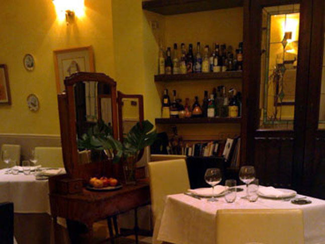 Restaurante Barrera Madrid Comedor