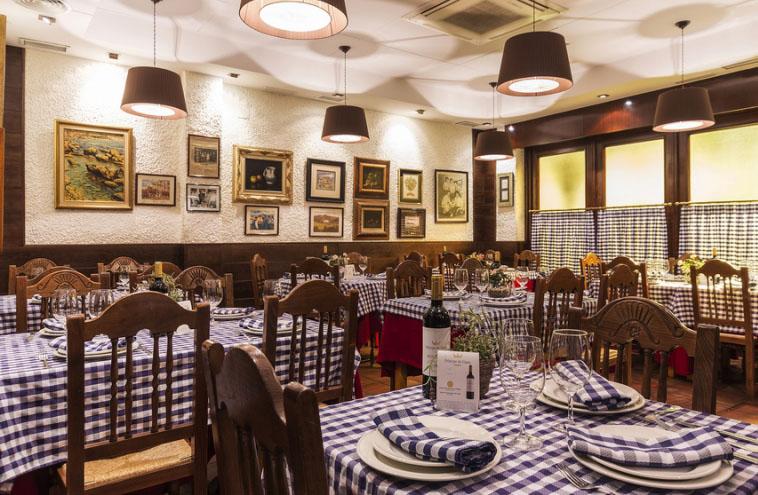 Restaurante Ordago Madrid Comedor