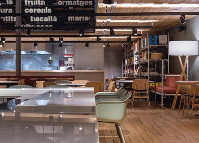 Restaurante El Ninot Cuina Barcelona Interiores