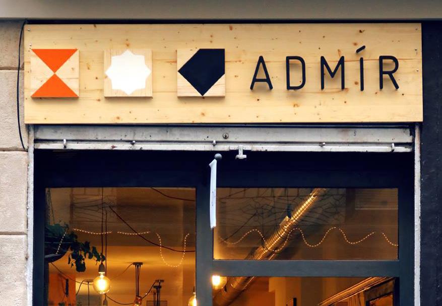 Restaurante Admir Barcelona Fachada
