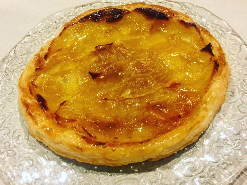 The apple pie