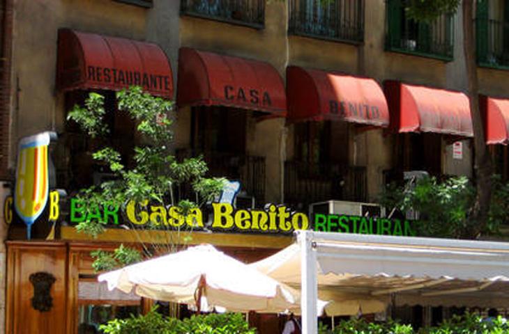 Casa benito calle santa engracia 75 madrid for La casa encendida restaurante madrid