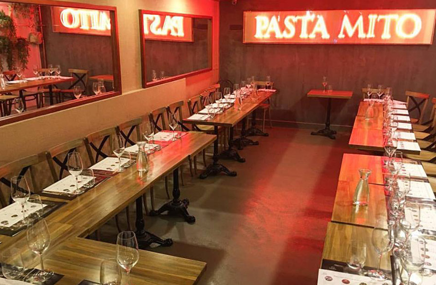 Restaurante Pasta Mito Madrid Alburquerque