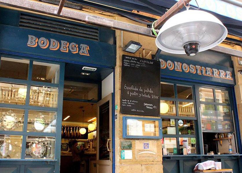 Bodega Donostiarra Restaurante San Sebastian