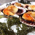 LOCAL SCALLOPS grilled