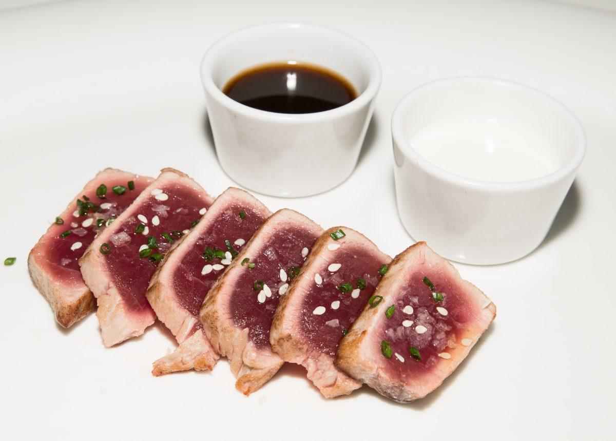 Tataki, ponzu y ajoblanco  (descargamento)