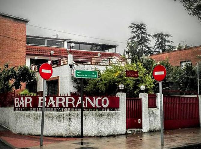 BAR BARRANCO