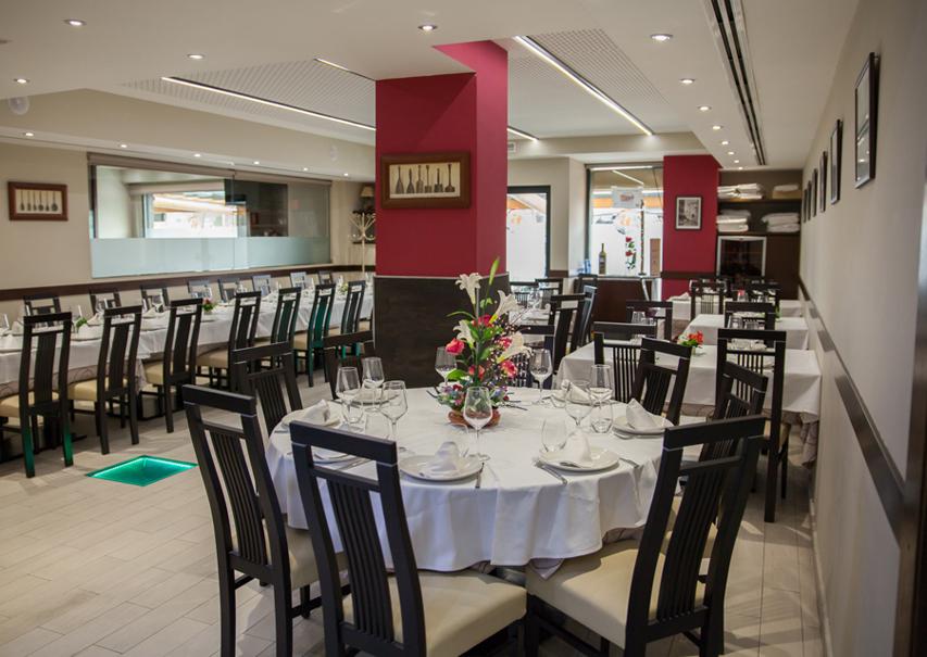 Restaurante Argayo Las Rozas comedor