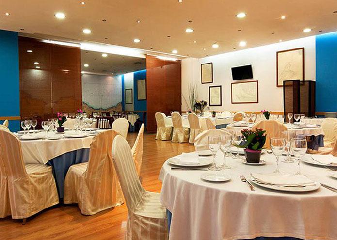 Restaurante La Buganvilla San Sebastian de los Reyes Salon