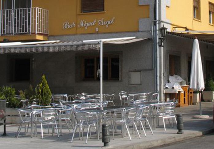 Restaurante Miguel Angel Pozuelo Terraza