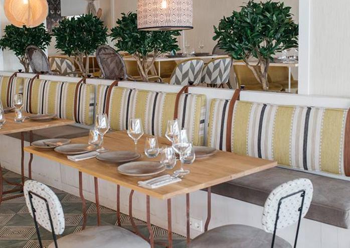 Restaurante Okavango Madrid Interiores