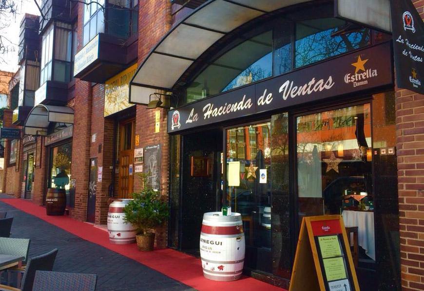Restaurante La Hacienda de Ventas Madrid