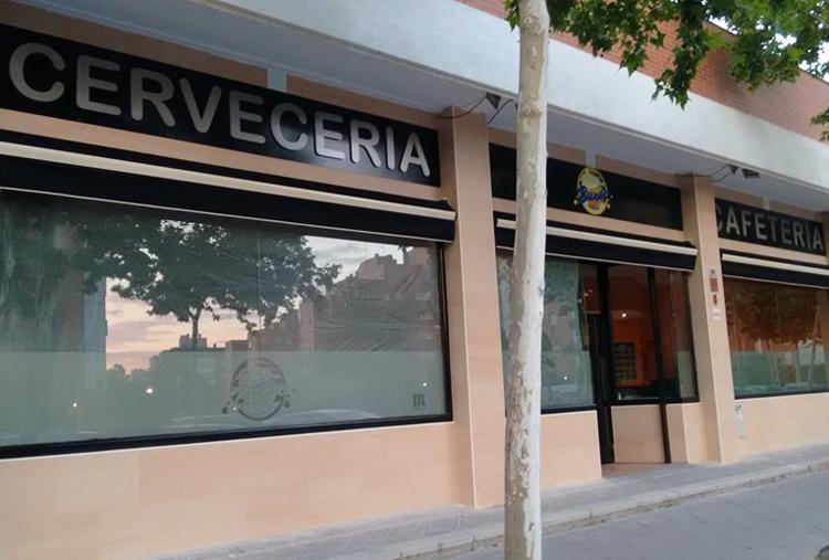 Cafeteria Bureo Fuenlabrada Fachada