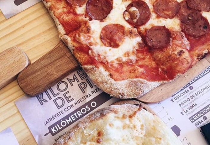 Kilometros de Pizza Parquesur Leganes