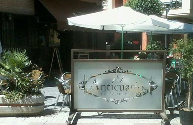 Restaurante El Anticuario Getafe Terraza