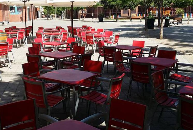 Restaurante El Azulon Getafe Terraza