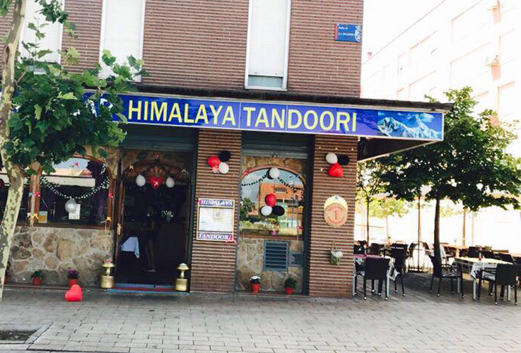 Restaurante Himalaya Tandoori Leganes Fachada