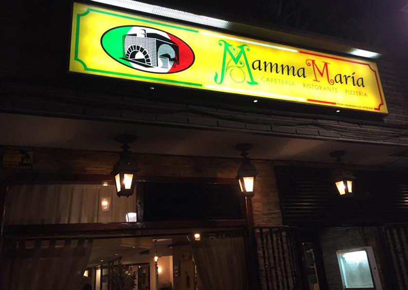 Restaurante Mamma Maria Leganes Pizzeria