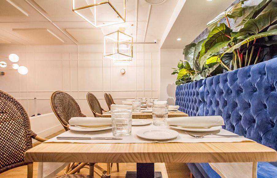 Restaurante Sargo Madrid Interiores