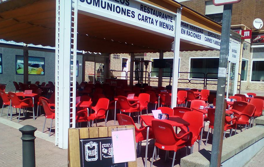 Restaurante Señorio de Fuenlabrada Terraza