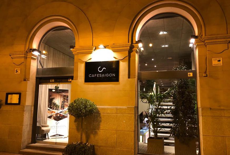 Cafe Saigon Restaurante Velazquez Madrid
