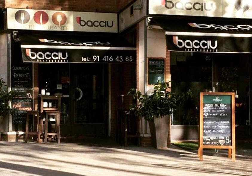 Restaurante Bacciu Madrid Terraza