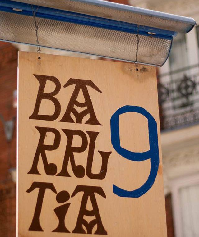 TABERNA BARRUTIA Y EL 9