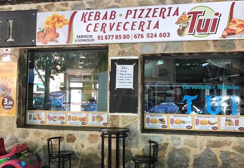 Tui Kebab Pizzeria Alcala de Henares
