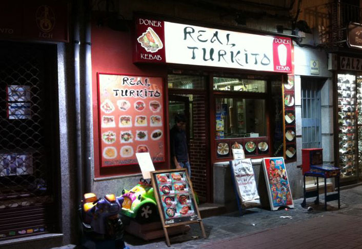 Real Turkito Kebab Getafe Fachada