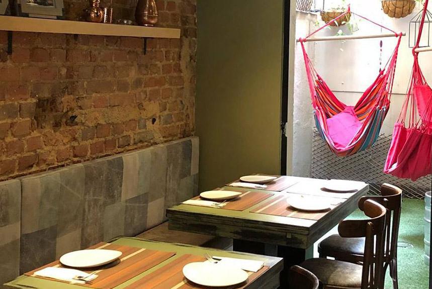 Restaurante La Bistroteca Madrid Interiores