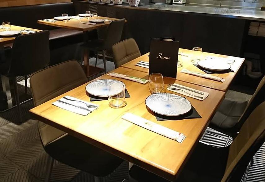 Restaurante Sunne Madrid Sala