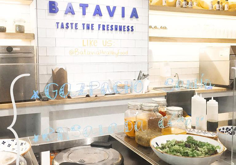 Batavia Healthy Food Madrid Interiores