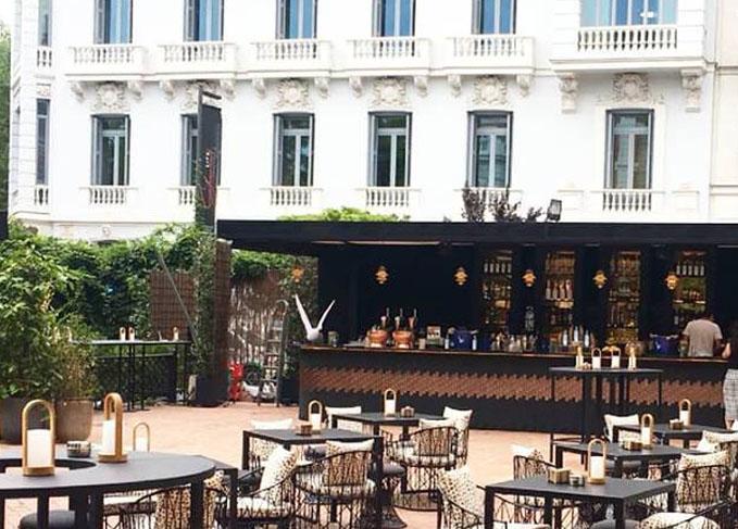 Restaurante Raimunda Madrid Terraza