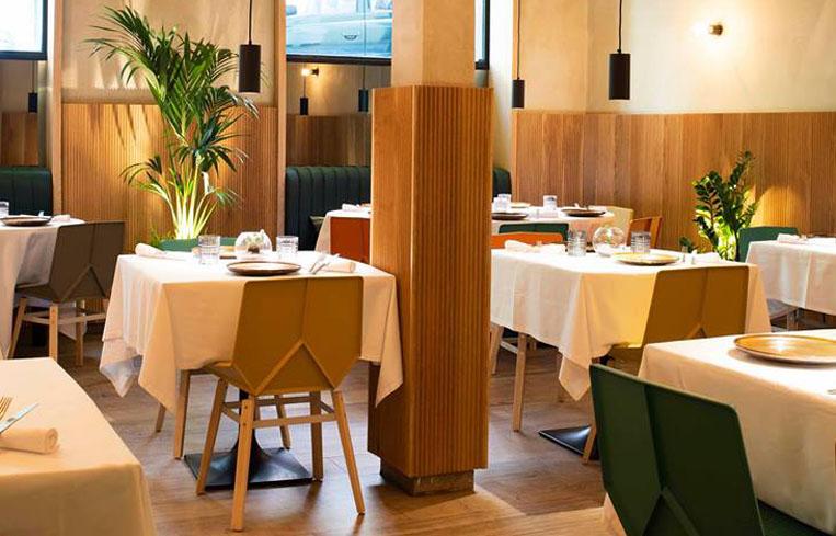Restaurante Salino Madrid Comedor