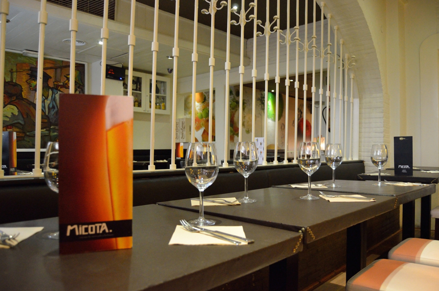 Restaurante Micota Madrid Castello