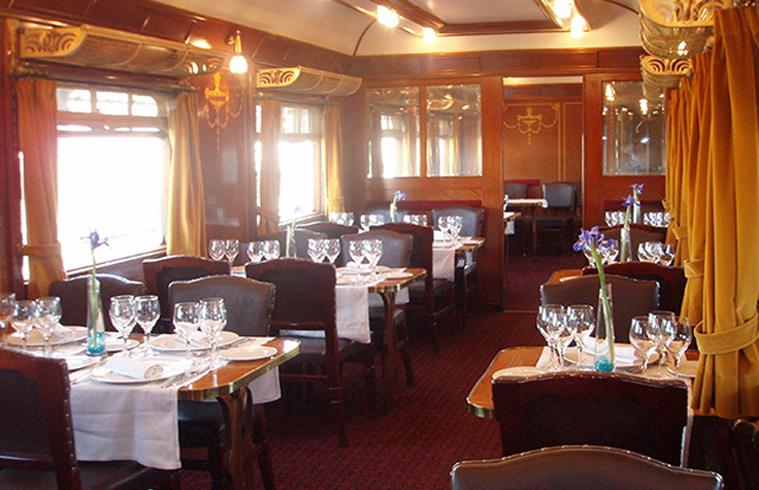 Gastrorail Restaurante Madrid Museo del Ferrocarril