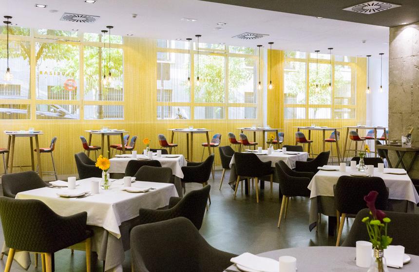Restaurante Blueizar Bilbao Sala