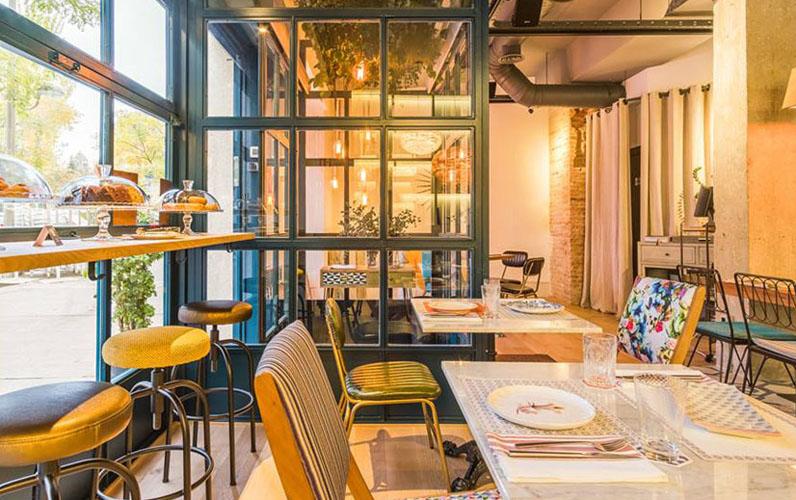 Restaurante Elektra Madrid Interiores