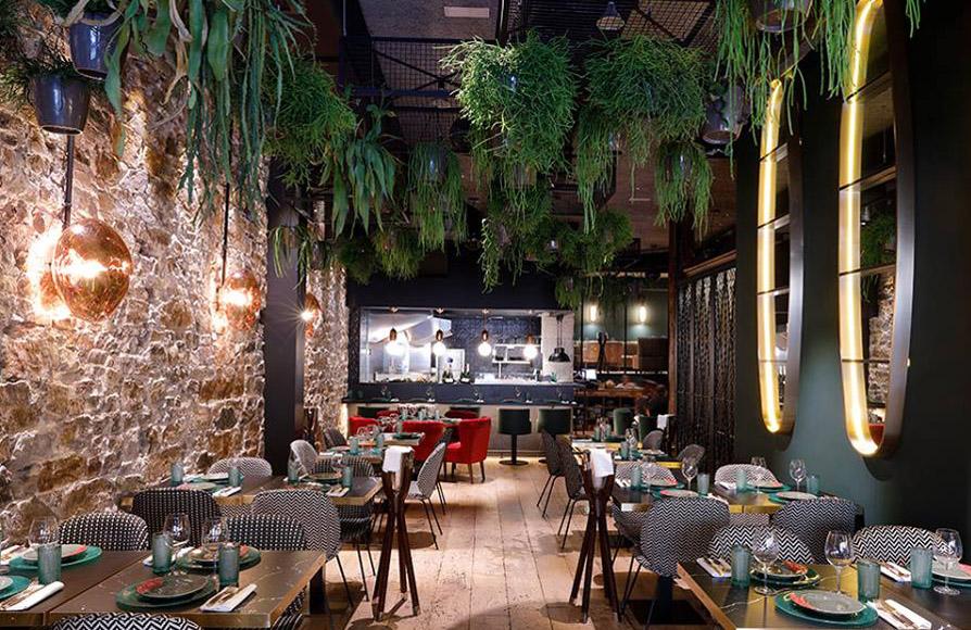 Basuki Restaurante Bilbao Interiores