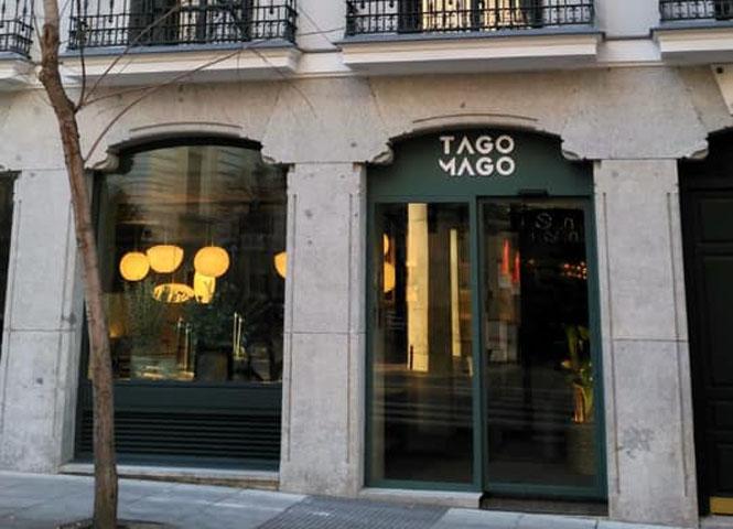 Restaurante Tagomago Madrid Fachada