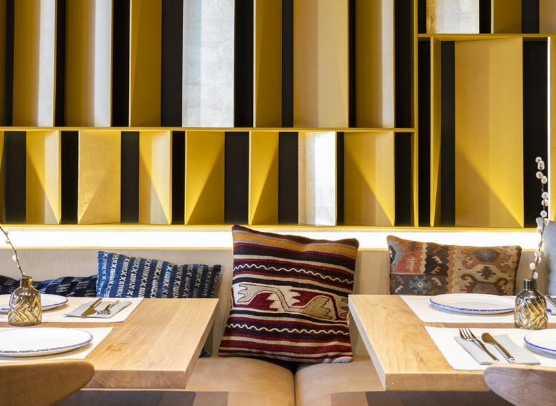 Restaurante Tagomago Madrid Interiores